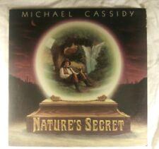 MICHAEL CASSIDY, Nature's Secret, 1977 VINYL LP (EX) COVER (EX) psychedelic folk