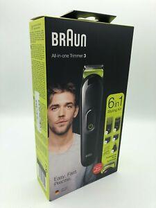 Braun MGK3221 Barttrimmer 6-in-1 Multi-Grooming-Kit 3 Haarschneider  NEU&OVP