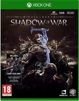 XBOX ONE Mittelerde Schatten des Krieges inkl. Bonus Inhalt NEU&OVP Paketversand