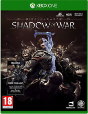 Xbox One Middle Earth Shadow of War incl. Bonus Content NIP Package Shipping