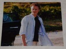 "CHRISTOPHER EGAN  10x8"" PHOTO SIGNED  LETTERS TO JULIET"