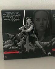 Star Wars The Black Series, 6 inch Rey (Jedi Training) on Crait, Nuevo/New!!!