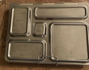 PlanetBox 5 Compartment Rover Lunch Planet Box Stainless Steel Locking