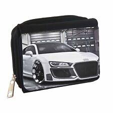 Audi R8 Personalised Customised Denim Wallet