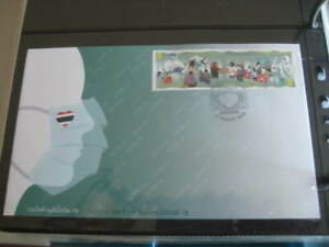 2020 Thailand Phila Numis Cover w/ #Together We Fight Against Pandemic Stamp MNH