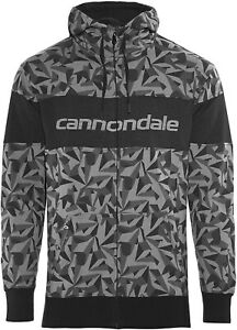 Sugoi Cannondale Black Camo Hoodie Long Sleeve Sweatshirt Size Large New