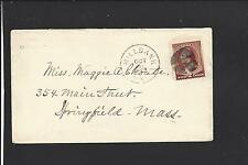 MILLBANK, SOUTH DAKOTA,1887 COVER, TERRITORIAL CL, GRANT CO. 1880/03 .