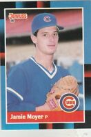 FREE SHIPPING-MINT-1988 Donruss Chicago Cubs Baseball Card #169 Jamie Moyer