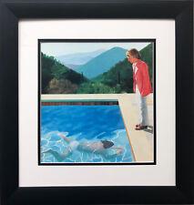 """David Hockney """"Portrait of an Artist"""" Pop Art Pool Men Man California"""