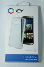 HTC One M9 Key Hybrid Case Cover Clear