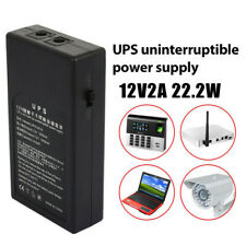 12V2A 22.2W UPS Uninterrupted Power Supply Backup Power Mini Battery for Camera