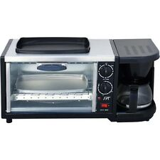 TOASTER-OVEN-COFFEE-MACHINE-FRY-PAN-ALL-IN-ONE-KITCHEN-APPLIANCE-SPACE-SAVER-RV