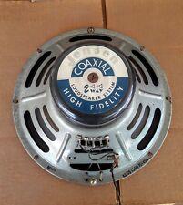 "(1) Vintage 12"" Jensen Coaxial Alnico Speaker, Scott Radio, Works Good...Look"