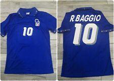 Maglia/Shirt/Camiseta Baggio Italia Italy vs Bulgaria Usa 94 Mundial XXL
