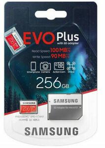 Samsung Evo Plus 256gb - with SD adapter