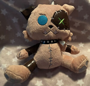 """Mattel Just Play Monster High 12"""" Watzit Dog Of Frankie Stein Plush gently used"""