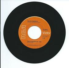 "1970 ELVIS PRESLEY ""THE WONDER OF YOU"" 45rpm 7"""