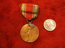 "VERY OLD VTG WWII VICTORY MEDAL ""FREEDOM FROM FEAR & WANT, OF SPEECH & RELIGION"""