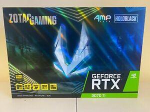 ZOTAC GAMING GeForce 3070 RTX Ti AMP Holo 8GB GDDR6X Graphics Card NEW