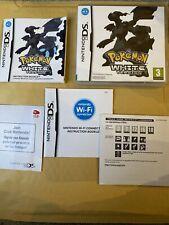 Nintendo DS Case + Manual - POKEMON WHITE VERSION - NO Game!