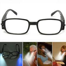 Gafas Lectura Visión Nocturna Dos Luz Led Lupa Ocular Anteojos Presbicia +1.5~+4
