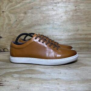 Allen Edmonds Port Washington Canal Court Sneakers, Men's Size 9.5, Brown