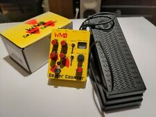 WMD Geiger Counter Distortion + Moog expression pedal guitar effects pedal