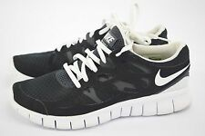 NIKE Womens Free Run 2 Running Outdoor Sneakers US 9.5 Black/Gray/White $130