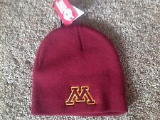 Minnesota Golden Gophers Officially Licensed NCAA Beanie Hat-BNWT's