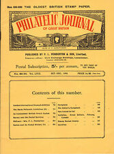 the philatelic journal of great britain . oct - dec 1948