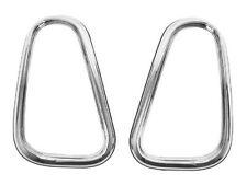 Mini (1st Gen) Taillight Ring Set CHROME r50 r52 r53 bezel brake stop lamp frame