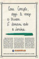 X7195 Banca Cariplo - Pubblicità 1992 - Advertising