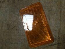 Rubbolite orange amber 023358 reflector lens E22