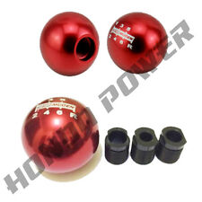 Mugen Style 6 Speed Gear/Shift Knob RED (JDM/Honda/Civic/EP3/FN2/Integra/DC5)