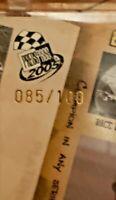 2005 Press Pass PLATINUM P98 Rusty Wallace Serial No. 085/100 Race Card