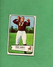 1954 Bowman Football Set BOBBY GARRETT Card # 16