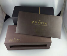 ZENITH CHRONOMASTER OPEN EL PRIMERO MENS WATCH INNER OUTER BOX and CATALOG