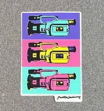 Primitive Skateboard Sticker 4in cameras si
