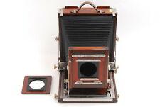【MINT NEW BELLOWS】Deardorff 8x10 Wood Field Large Format Film Camera From JAPAN
