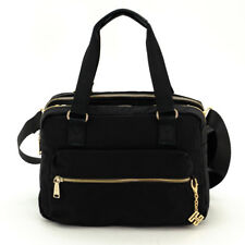 Leuna Eberhart Crossbody Shoulder Nylon Everyday Tote Hand Bag Purse Black NWT