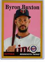 Byron Buxton 2019 Topps Archives 5x7 Gold #74 /10 Twins