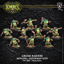 Privateer Press Hordes Minions Croak Raiders Unit of 10 PIP 75061