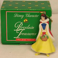 Groiler Disney SNOW WHITE Porcelain Treasure Christmas Ornament #109 MINT in BOX