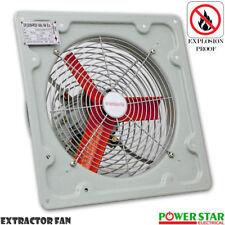 Heavy Duty Industrial Metal Axial Extractor Ventilation Shutter Fan 12Inch