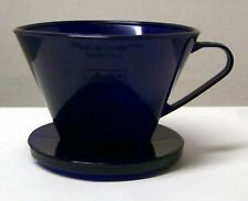 1 Dozen Melitta #2 Cobalt Blue Cone Filter Coffee Maker Perfect Brew Style New