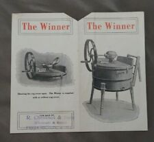 """1800's Ottawa Ontario Advertising Label The """"Winner""""  J H Connor & Son Limited"""