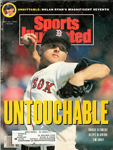 1991+2003+2004--SPORTS ILLUSTRATED--ROGER CLEMENS  COVERS--LOT OF 3--XLNT