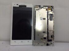 PANTALLA LCD + TACTIL CON MARCO ORIGINAL BLANCA PARA HUAWEI G6 ORANGE GOVA