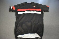 Bellwether Short Sleeve Cycling Jersey, Men's, Medium, Red/White/Black