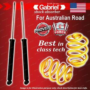 Rear Gabriel Ultra Shocks + Lowered King Coil Springs for BMW 3 Series E46 318